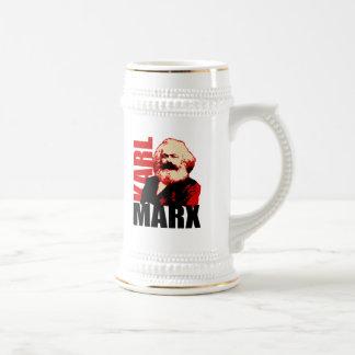 Karl Marx Portrait, Socialist Beer Stein