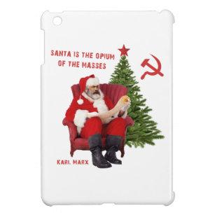 Karl Marx Santa iPad Mini Cover