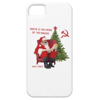 Karl Marx Santa iPhone 5 Case