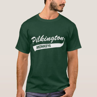 Karl Pilkington Monkeys Green T-shirt