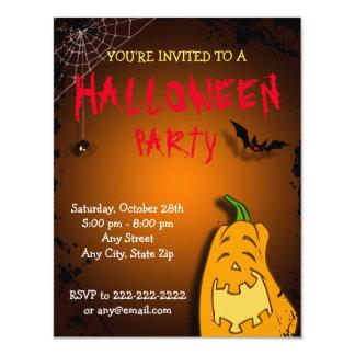 Karl Pumkin Halloween/Birthday Invite