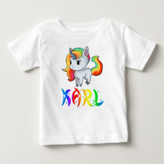 Karl Unicorn Baby T-Shirt