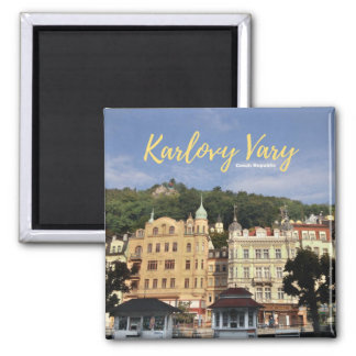 Karlovy Vary Collectible Magnet