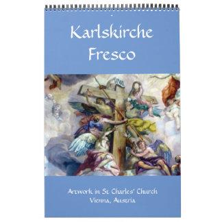 karlskirche fresco vienna calendar