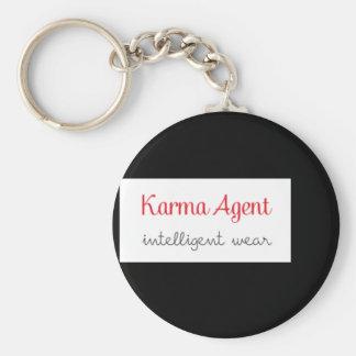 karma Agent - intelligent wear, positive energy Key Ring