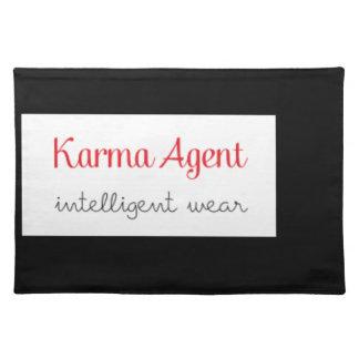 karma Agent - intelligent wear, positive energy Placemat