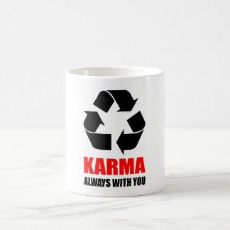 Karma Always With You  Buddha Buddhist  Funny Coffee Mug