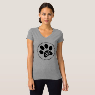 Karma Be Kind To Animals Mug V Neck T-Shirt