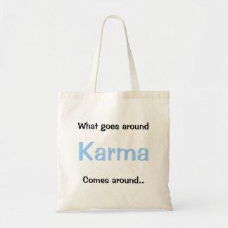 Karma Budget Tote Bag