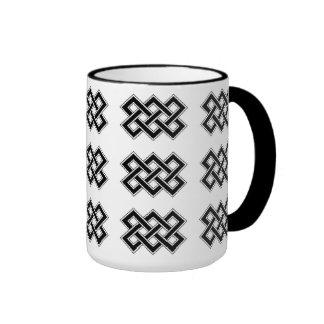 Karma Celtic Knot Symbol Coffee Mug