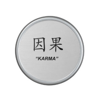"""Karma"" Chinese symbol gifts and products Bluetooth Speaker"