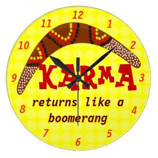 Karma clock