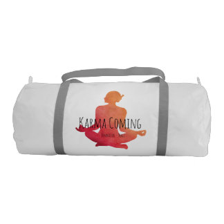 Karma Coming - Yogi Name Gym Bag