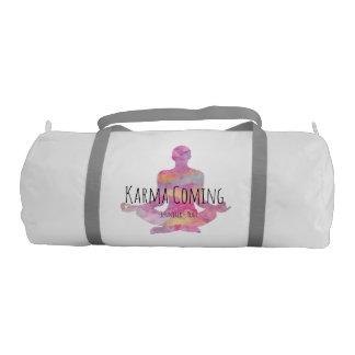 Karma Coming - Yogi Name Gym Duffel Bag