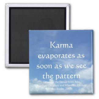 Karma evaporates (sky) [magnet] magnet