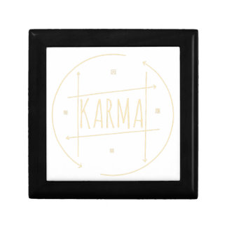 Karma (For Dark Background) Gift Box