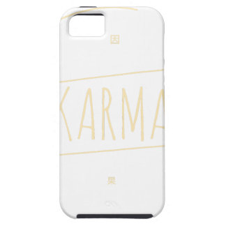 Karma (For Dark Background) iPhone 5 Cover