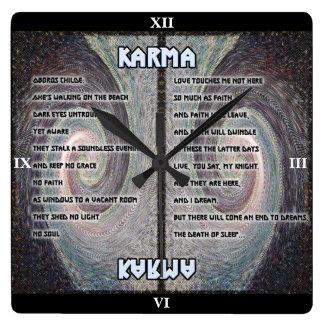 Karma Oboros Tapestry Clock