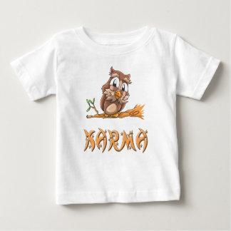 Karma Owl Baby T-Shirt
