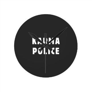Karma police wall clocks