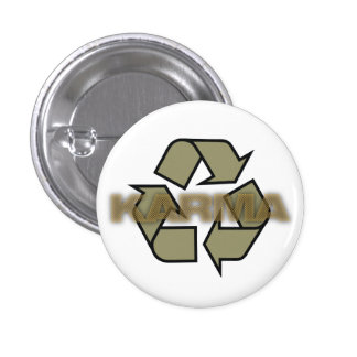 karma recycle logo buttons