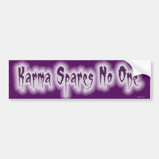 Karma W Bumper Sticker