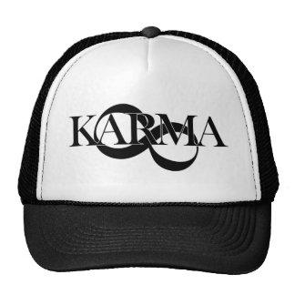 Karma with infinity symbol cap