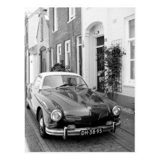 Karmann Ghia Classic Car Art Print Postcard