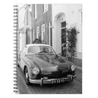 Karmann Ghia Classic Car Notebook
