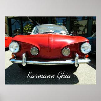 Karmann Ghia Poster