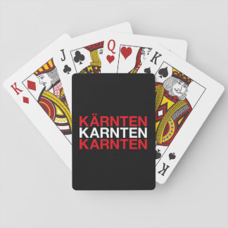 KÄRNTEN PLAYING CARDS