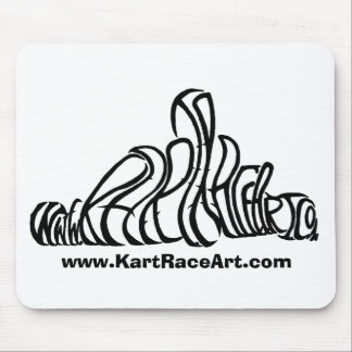 Kart Race Art MousePad