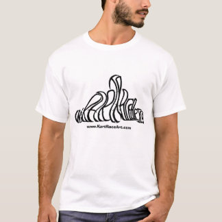 Kart Race Art T-shirt