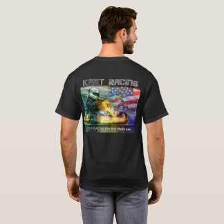 Kart Racing back T-Shirt