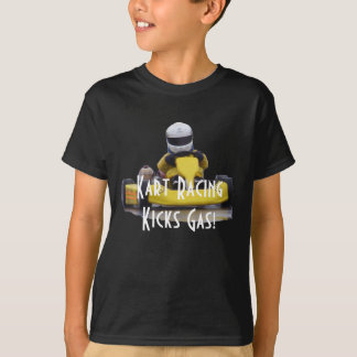 Kart Racing Kicks Gas! T-Shirt