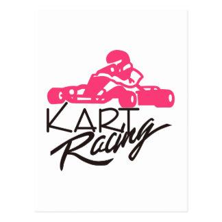 Kart Racing Postcard
