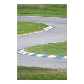 Kart Track Customised Stationery