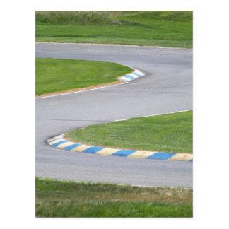Kart Track Postcard