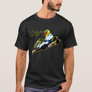Karting in Yellow T-Shirt