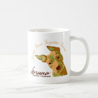 karuna bully rescue LARGE coffee mug