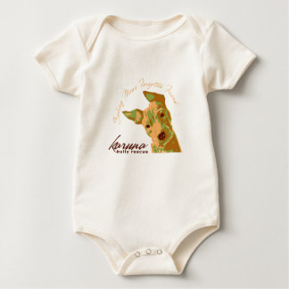 karuna bully rescue organic baby snap t baby bodysuit