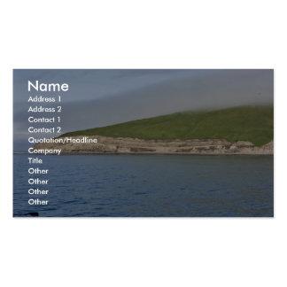 Kasatochi Island bluffs, Andreanof Islands Business Card