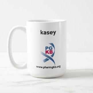 kasey - curate red coffee mug
