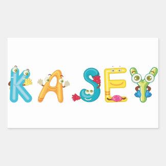 Kasey Sticker