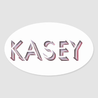 Kasey sticker name