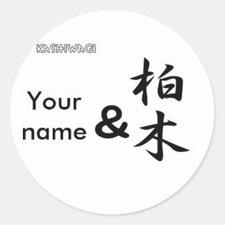 Kashiwagi Stickers