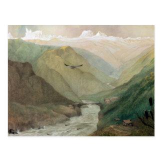 Kashmir, c.1860 postcard
