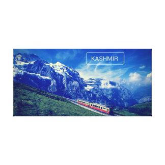 Kashmir Heaven On Earth Canvas Poster