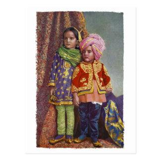 Kashmir Kids Postcard