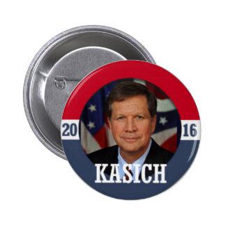 Kasich 2016 Logo 6 Cm Round Badge